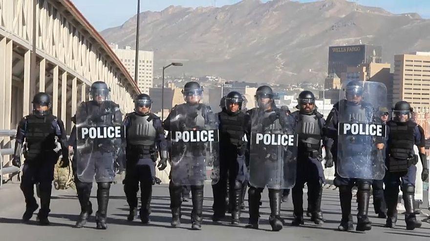 Trump envía 5.200 militares a la frontera con México