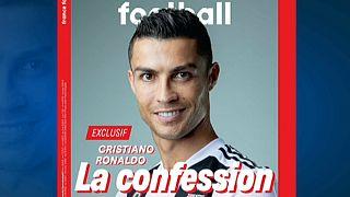 """""""A Confissão"""", título da entrevista exclusiva de Ronaldo na France Football"""