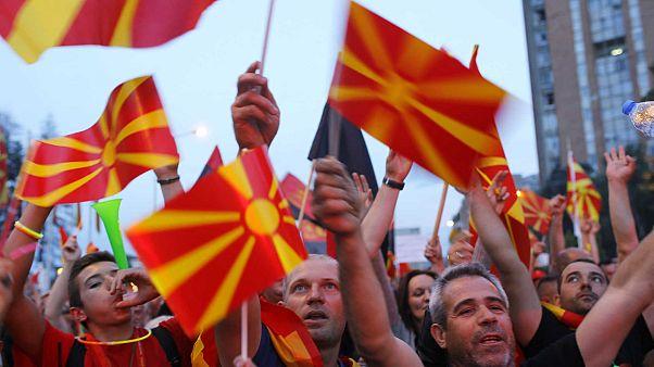 Macedónia do Norte: 91% dizem sim em referendo à mudança de nome