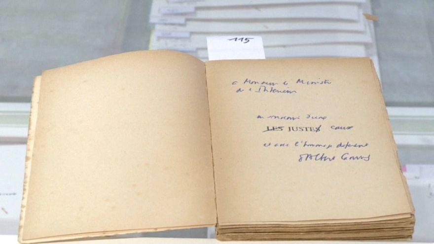 Des livres de François Mitterrand vendus aux enchères