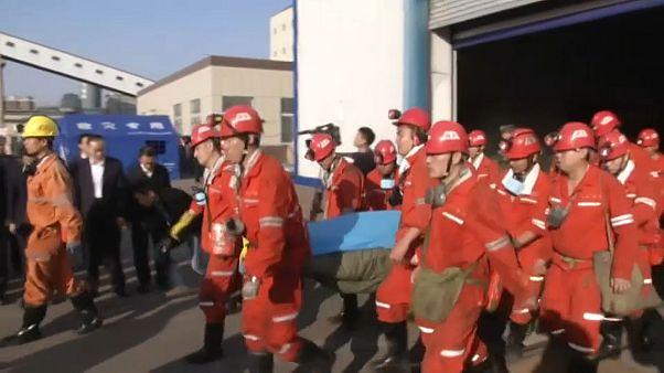 Több mint 20 halott a kínai bányában