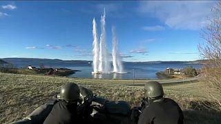 Las mayores maniobras militares de la OTAN desde la Guerra Fría