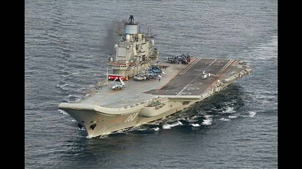 Megsérült az Admiral Kuznyecov