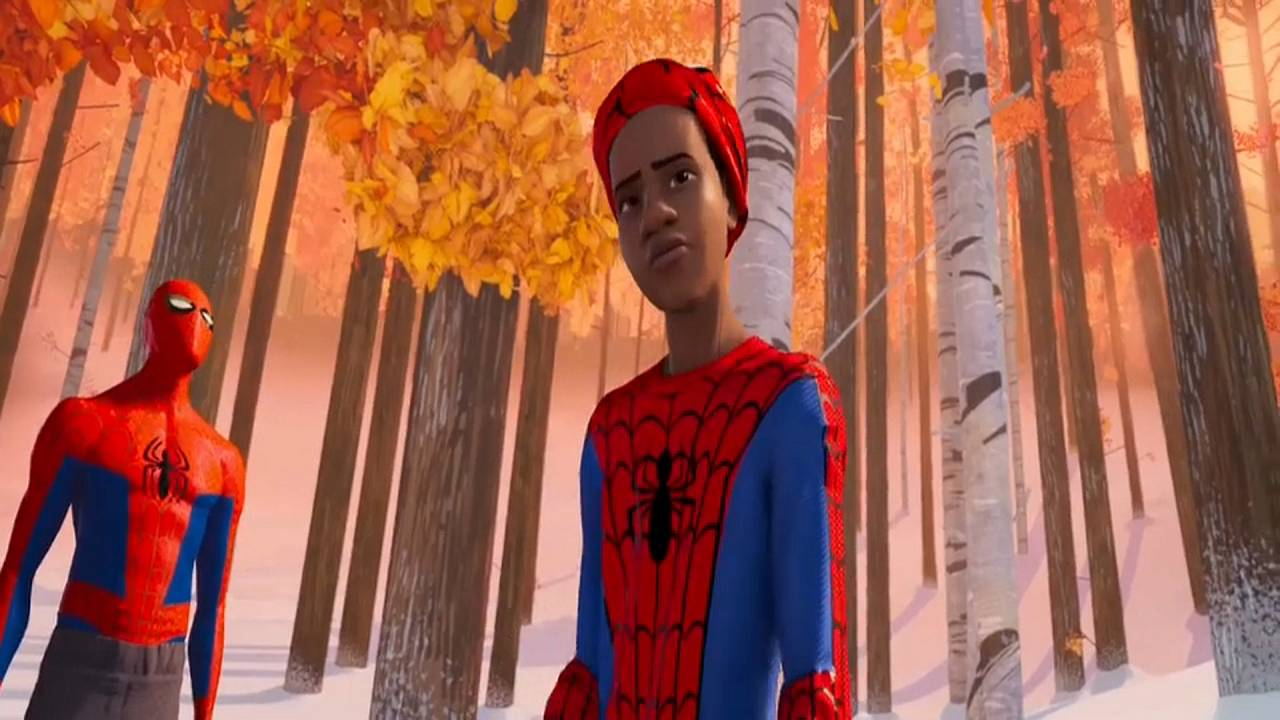 Animationsfilm: Der erste schwarze Spiderman
