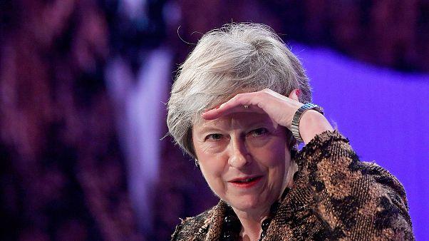 Visita à Irlanda do Norte de Theresa May