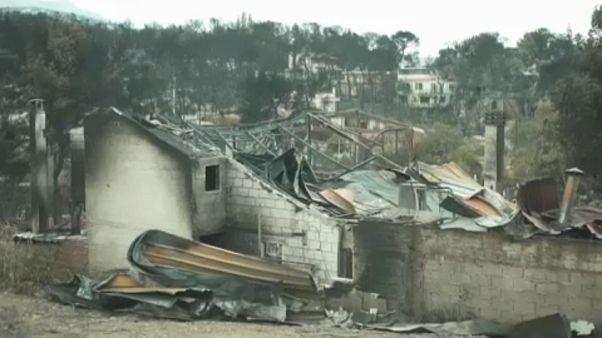Grécia identifica vítimas do incêndio de Mati
