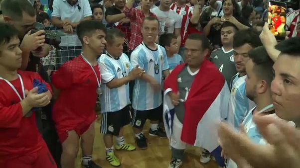 International dwarf football tournament tackles prejudice