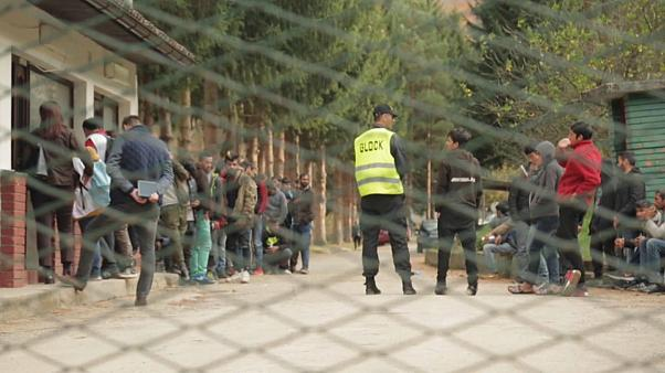 Inverno ameaça migrantes nos Balcãs
