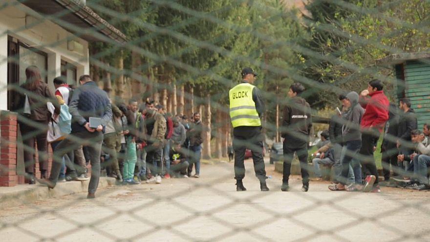 Bosnie : des abris pour les migrants