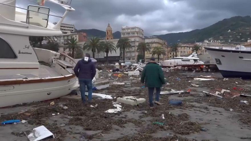 11 Tote durch dramatische Unwetter in Italien