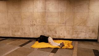 hajléktalan Budapesten