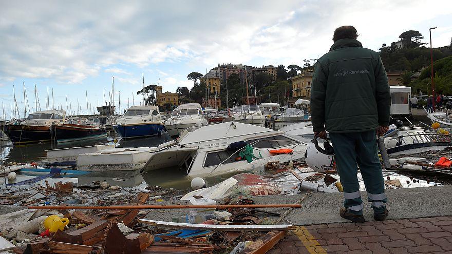 Las lluvias y vientos en Italia dejan 10 muertos