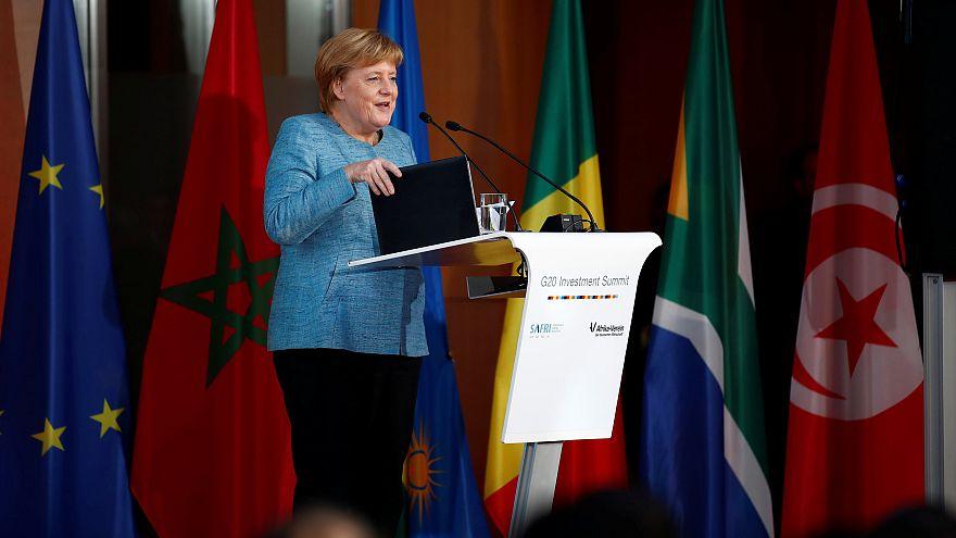 Merkel verspricht zusätzliche Investitionen für Afrika