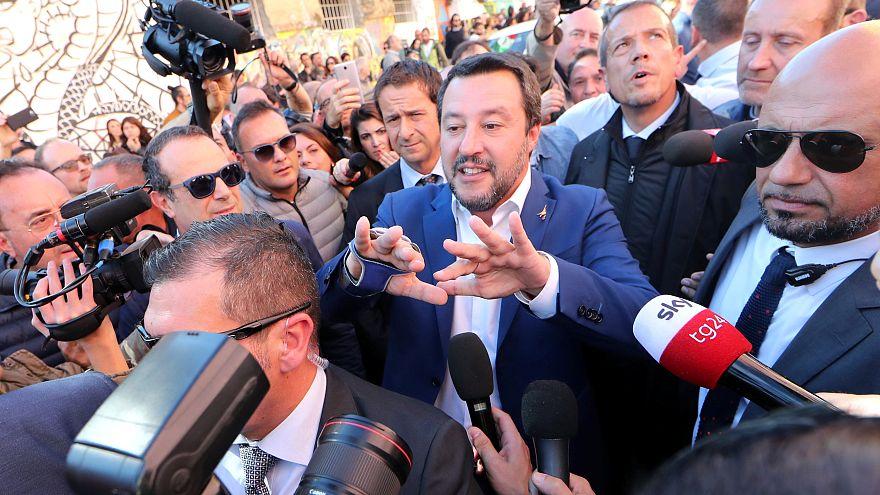 """ماتيو سالفيني زعيم حزب """"رابطة الشمال"""" الإيطالي"""