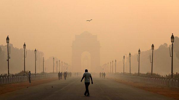 Nach Lichterfest: Neu-Delhi erstickt im Smog