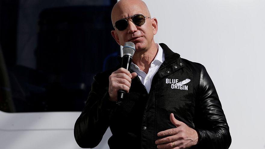 جيف بيزوس، مؤسس شركة أمازون - رويترز.
