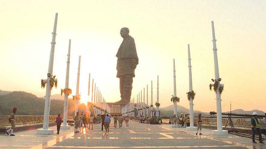 شاهد: الهند تصنع أكبر تمثال في العالم