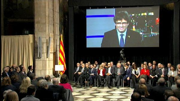 Los primeros pasos del 'Consell per la República' de Carles Puigdemont