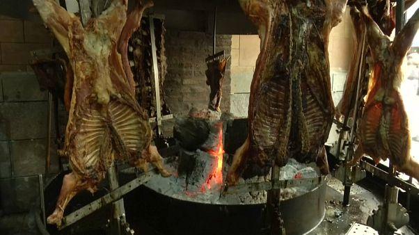 Los argentinos prescinden de la carne por la crisis