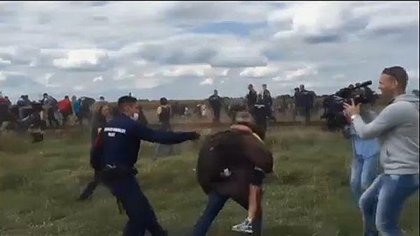Ουγγαρία: Απαλλάχθηκε η δημοσιογράφος που κλωτσούσε μετανάστες
