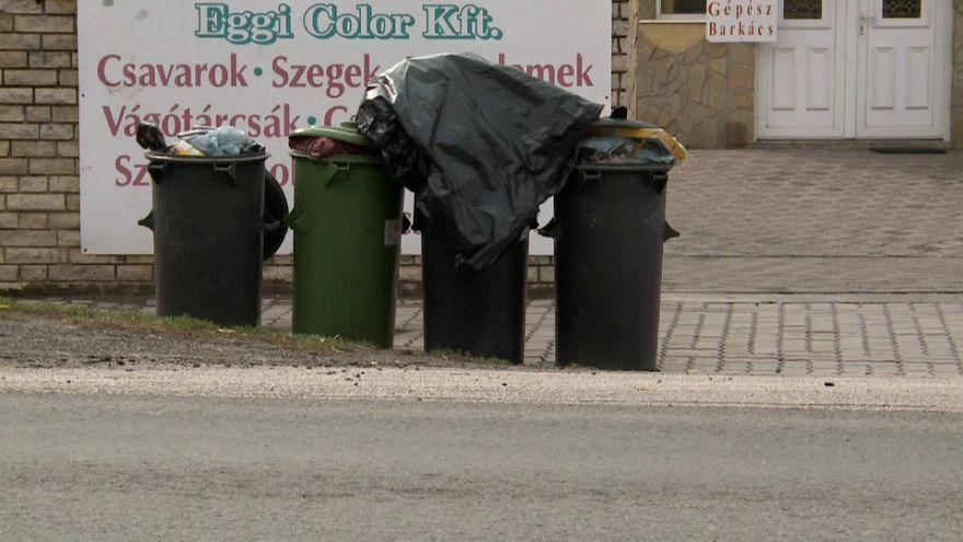 Müllberge bringen Ungarns Regierung in Bedrängnis