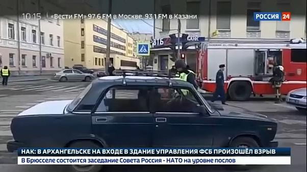 Atentado bombista contra serviços secretos russos