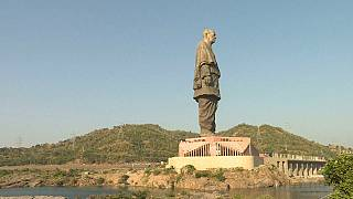 India unveils the tallest statue in the world