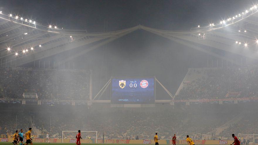 Şampiyonlar Ligi'nde 'sallanan tribünlere' UEFA'dan inceleme