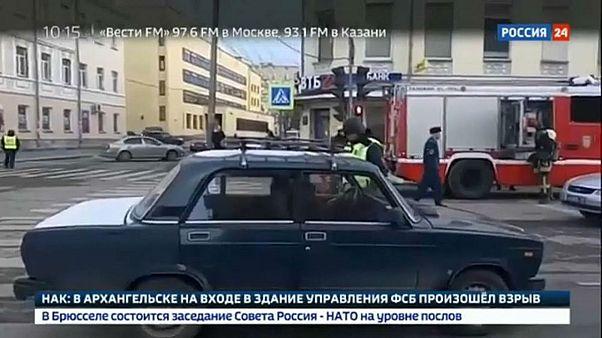 انفجار بمب در نزدیکی دفتر امنیت ملی در شمال روسیه یک کشته و سه زخمی بر جا گذاشت