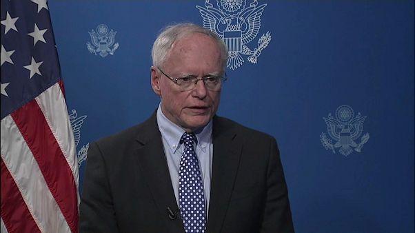 US denounces Russian role in Syria crisis.