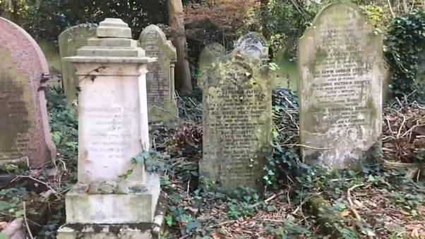 Graves at the City of London Cemetery and Crematorium