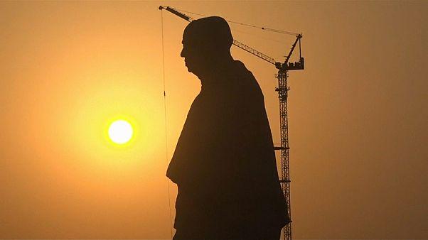 La India inaugura la estatua más alta del mundo en honor a un héroe nacional