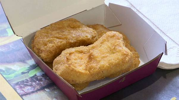 Watch: the lab-made chicken nuggets that avoid killing any birds