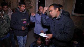 На пути в Евросоюз: беженцы жалуются