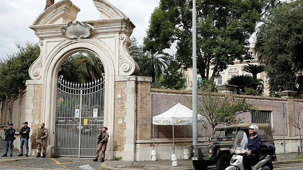 کشف بقایای جسد در نزدیکی سفارت واتیکان در رم