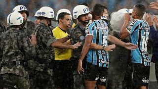 Copa Libertadores : l'arbitre doit quitter le stade protégé par la police