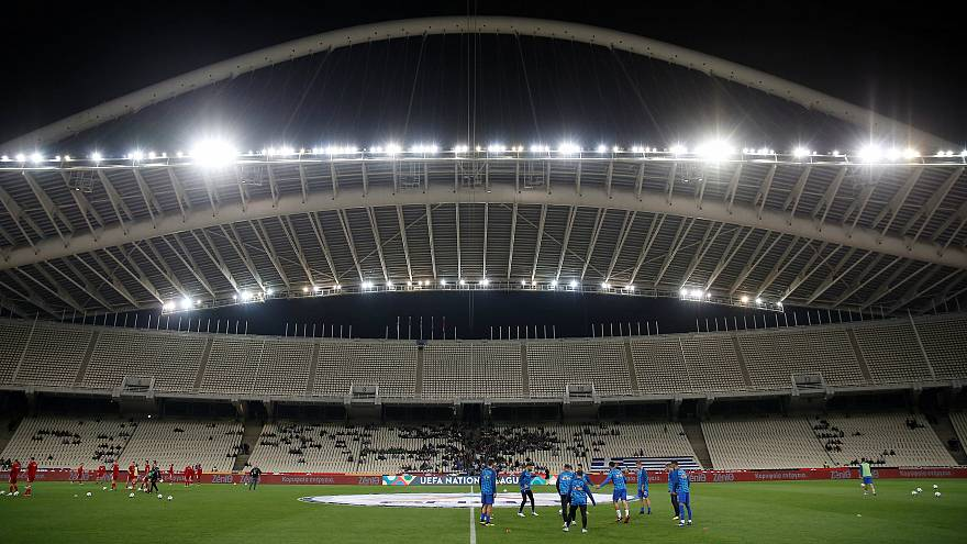 UEFA investigates Athens stadium after fan video shows structural movement