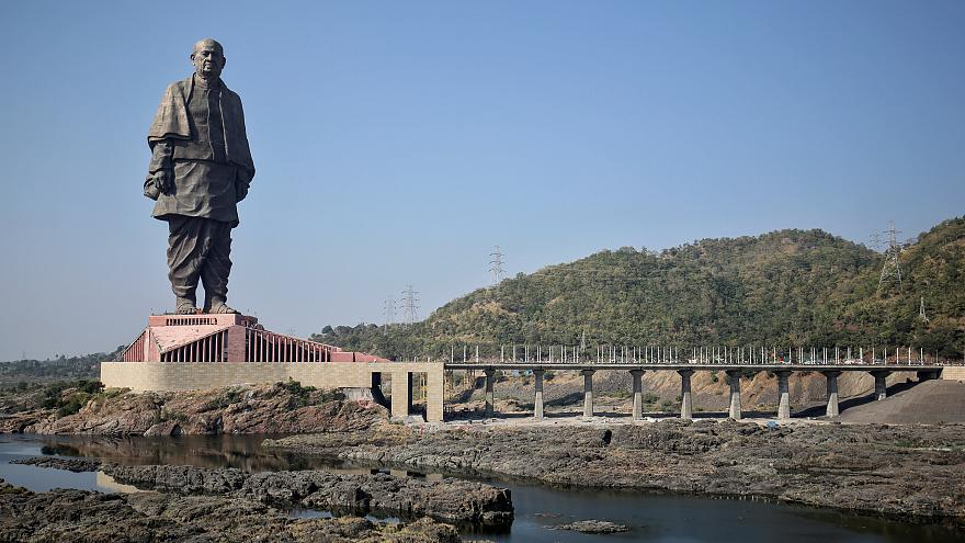 182 Meter: Höchste Statue der Welt eingeweiht