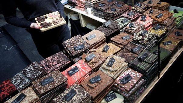 В Париже открылась самая большая ярмарка шоколада