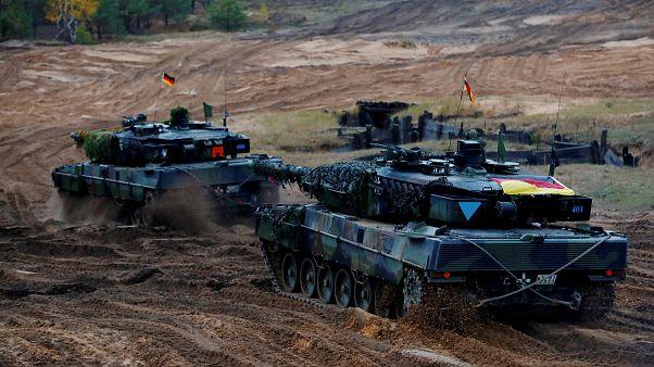 Alman Savunma Bakanlığı açıkladı: Yeni tanklar kullanılamaz halde