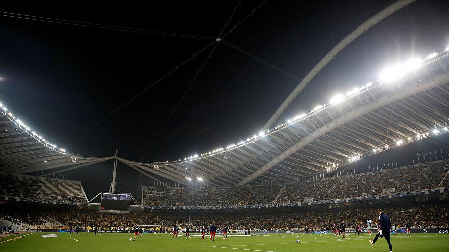 Vizsgálja az UEFA az athéni stadiont az épület mozgását mutató videó után