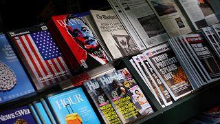 New York: Kiosk voller Falschmeldungen