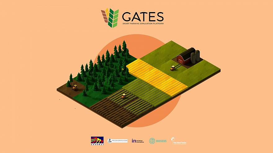 GATES farming game was developed by Serbian company InoSens
