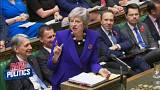 PMQs get fiery as May defends economic record | Raw Politics