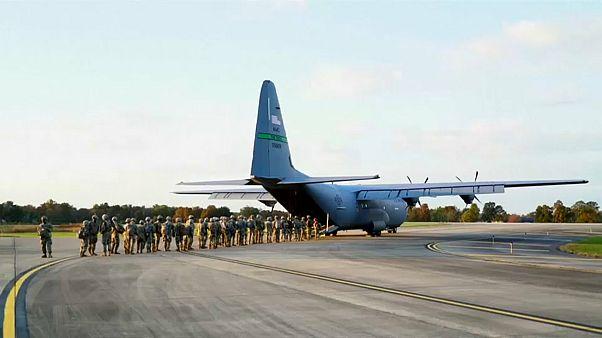 Трамп отправляет армию навстречу мигрантам