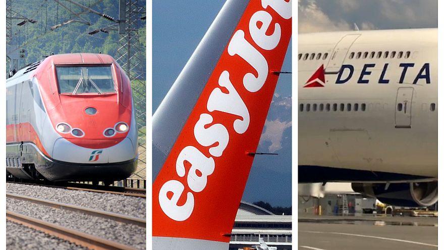 La sfida a tre per Alitalia: FS, easyjet e Delta