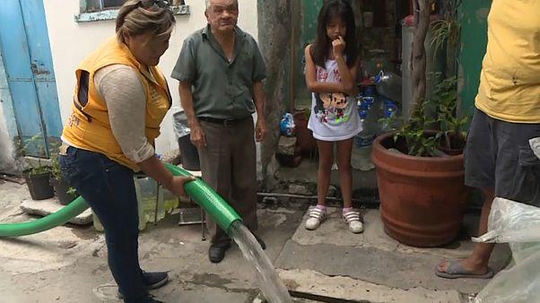 Gigantesco corte de agua en Ciudad de México