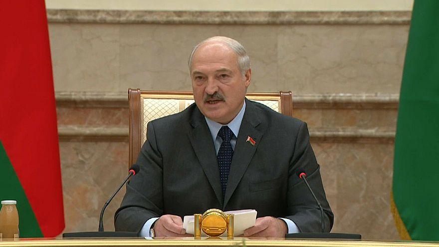 Az európai biztonságról beszélt a fehérorosz elnök Minszkben