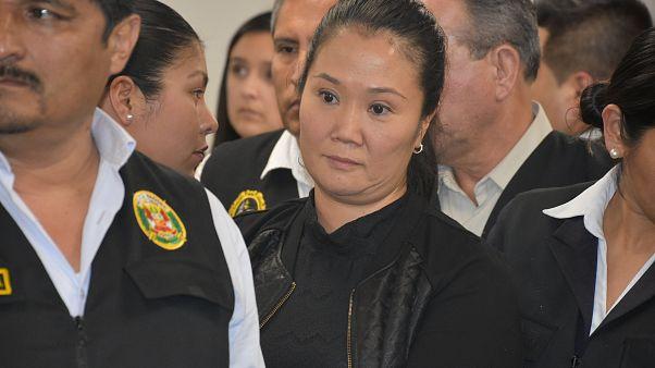 Pérou : prison pour Keiko Fujimori, chef de l'opposition
