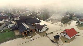 Komoly árvízkárok Ausztriában